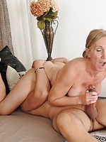 mature women licking younger women
